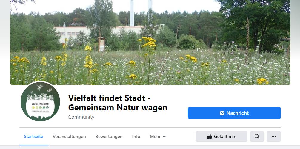 Vielfalt findet Stadt jetzt auch auf Facebook